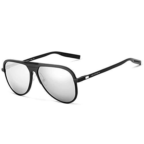 para Polarizadas Sol Masculinas Hombres Accesorios De Gafas Gafas De del Sol Mujeres Gafas gray De Magnesio Sol Hombres FKSW Los Aluminio De black Gafas De RUq6UHvw