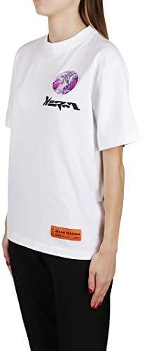 HERON PRESTON Luxury Fashion Donna HWAA019E20JER0010130 Bianco Cotone T-Shirt | Autunno-Inverno 20