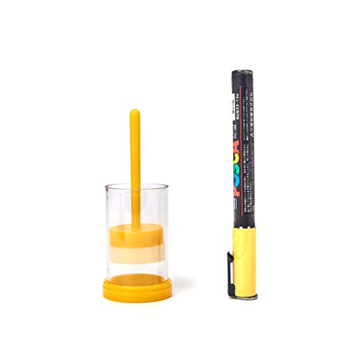 HONEY LAKE Queen Bee Marking Kit Queen Marking Tube with 1 Queen Marker Pen for Beekeeper