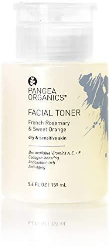 - Pangea Organics Facial Toner (French Rosemary & Sweet Orange)