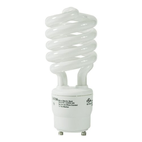 Kichler 4045 26-watt GU24 Base Spiral One Piece Replacement Compact Fluorescent Lamp, White