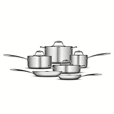 Tramontina 10-Piece Gourmet Cookware Set