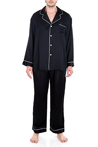 Men's Luxury Silk Sleepwear 100% Silk Pajamas Set by Oscar RossaÂ