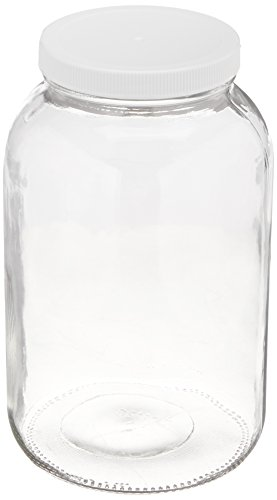 1-gallon USDA Fermentation Glass - Gal Glass Jar