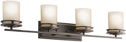 Kichler 5079OZ Bath 4-Light, Olde Bronze