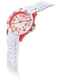 Unisex 40NINE03/RED4 Medium 40mm Analog Display Japanese Quartz White Watch