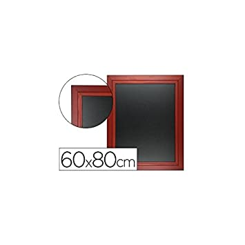 Liderpapel PZ12 - Pizarra negra, 60 x 80 cm: Amazon.es ...