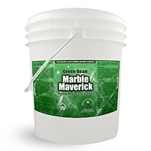 Natural Commercial Marble Granite Cleaner and Hardwood Floor Cleaner - Marble Maverick 5 Gallon