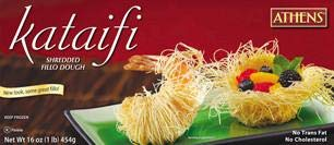 Shredded Fillo Dough Kataifi 1lb
