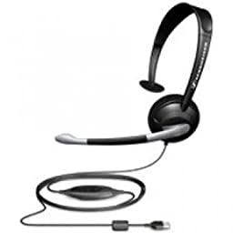 Sennheiser  PC 25-S Monaural Single-Sided Headset with Noise-Canceling Microphone & Excellent Clarity/Voice Recognition