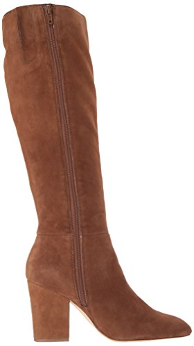 Nine West Women's Shearling Suede Knee High Boot Brown Suede d7DLVhs
