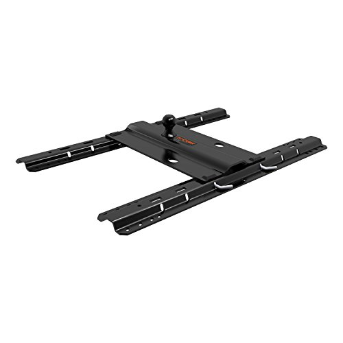 CURT 16055 Bent Plate 5th Wheel Rail Gooseneck Hitch