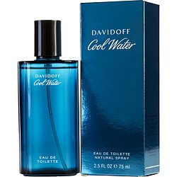 COOL WATER by Davidoff EDT SPRAY 2.5 OZ ()