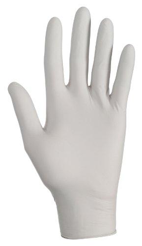 Kleenguard G10 Grey Nitrile Gloves , Medium, Powder-Free, Am