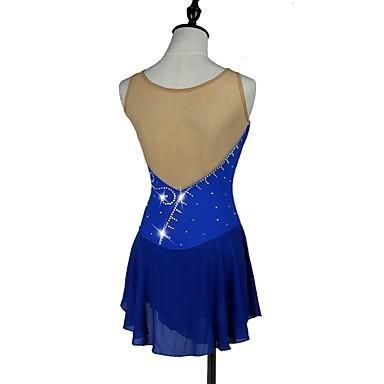 Vestido Sobre Patinaje Secado Elástico Sexy Niña Oscuro Azul De Clásico Hielo Y Yameijia Para Mujer Rápido qdABgwq