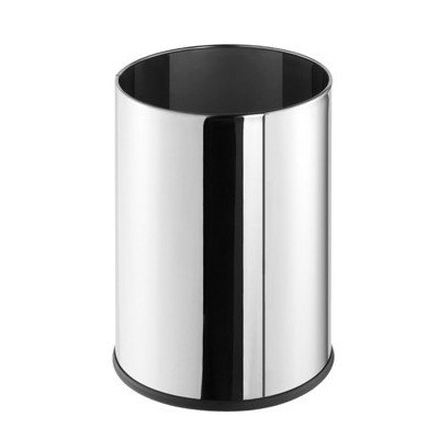 Standard Hotel 2.38 Gallon Trash Can Color: Chrome Geesa Basket