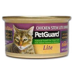 PetGuard Chicken Stew Lite Dinner For Cats, My Pet Supplies