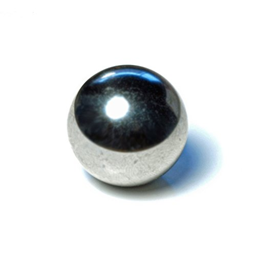 - WE Games Replacement Steel Ball for Shoot The Moon & Pinball - Ball Measures 1.06 Inch in Diameter