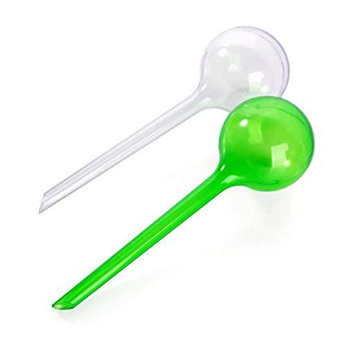 Verde Dispositivo de riego autom/ático de Bola de Cristal de imitaci/ón para Viaje Queta PVC Large