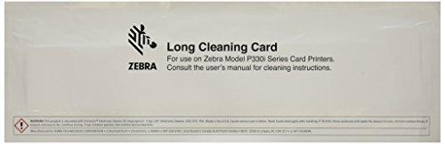 Zebracard 105912G-707 Cleaning Card Kit, 50 Large