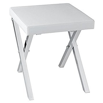 Taymor Industries Folding Vanity Stool by Taymor Industries