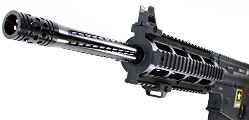 Trinity Tippmann Project Salvo Barrel 16 Black Aluminum woodsball Paintballing Paintballer Tactical Gear Accessory.