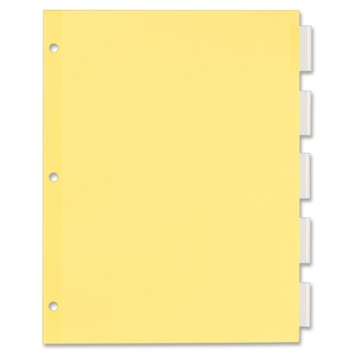 Office Essentials Insertable Dividers, 8-1/2