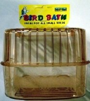 Small Bird Bath for Budgies etc by Yorkshire Leather Company