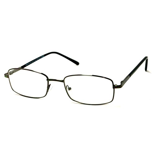 VINTAGE Rectangle Metal Optical Frame Unisex Clear Lens Eye Glasses - Vintage Frames Optical
