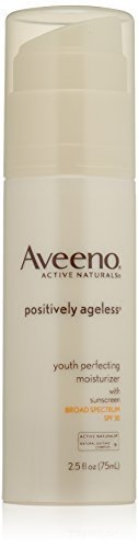 Aveeno Active Naturals Positively Ageless Youth Perfecting Moisturizer, SPF 30, 2.5 Ounce by Aveeno