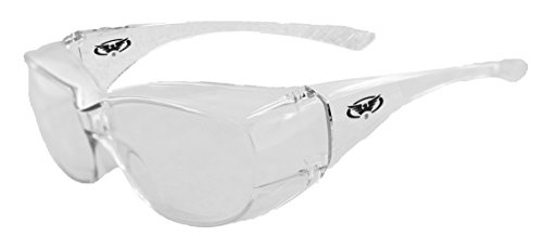 Global Vision Eyewear Oversite Series Sunglasses With Clear Safety Lenses
