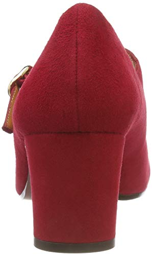 Chie Janes Rojo ante Femme Rojo Rojo Mihara Ante Rouge Preta Mary r6rt8