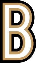 [해외]LD-B 레터 칼 B 스티커 LETTER DECAL (7.6 cm) / Ld-b Letter Decal B Sticker LETTER DECAL (7.6 cm size)