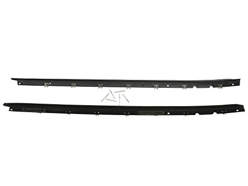 1984-1996 Corvette Door Outer Glass/Window Seal/Belt Moulding Pair ()