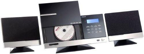 auvisio HiFi-Micro-Stereoanlage Bluetooth MSX-670.bt CD/USB/FM/Wecker; 32 W