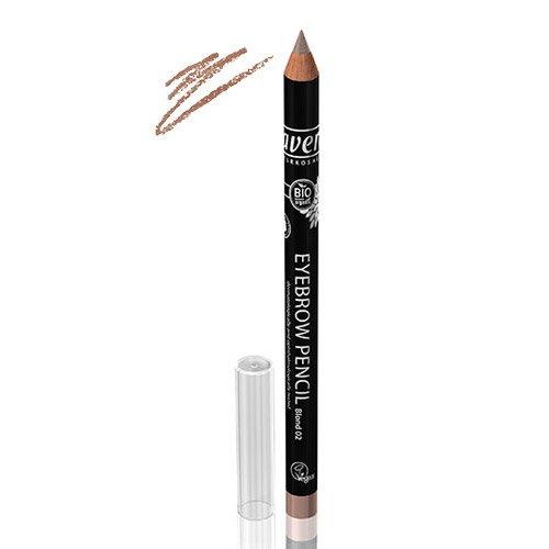 Lavera, Blonde Eyebrow Pencil - Long-Lasting Define, Fuller,