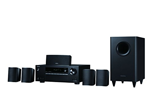 Onkyo immersive Surround Sound 5.1-Channel Home Theater Speaker System, Black