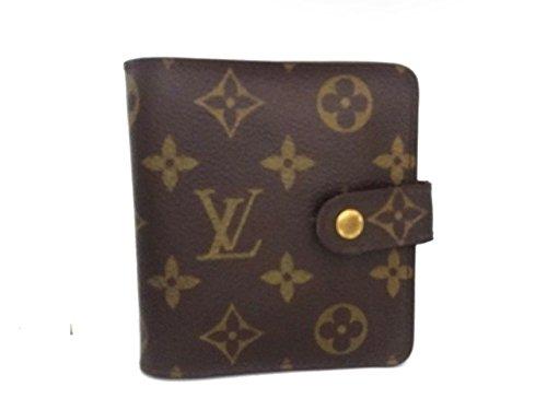 (ルイヴィトン) LOUIS VUITTON 2つ折り財布 コンパクトジップ M61667 【中古】 B07FP14MHZ