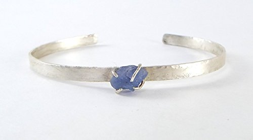 Tanzanite Sterling Silver Bangle Bracelet product image