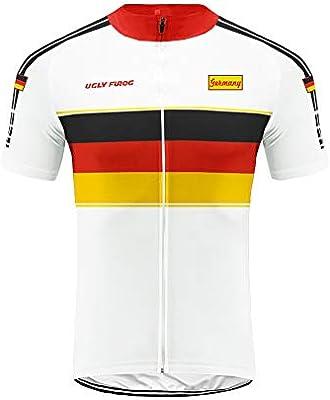 Uglyfrog Bandera Nacional Patrón de Diseño Hombre Cycling Jersey Maillot Ciclismo Mangas Cortas Camiseta de Ciclistas MTB/Bici Ropa Ciclismo Material Transpirable: Amazon.es: Deportes y aire libre