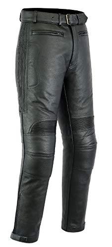 Texpeed Jean/pantalon de moto - homme - cuir - W38 L35