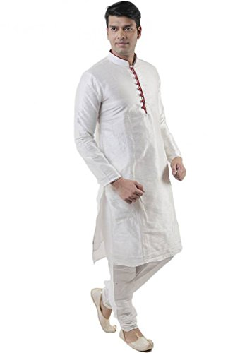 Larwa Men's Festive, Wedding Kurta=Pyjami Set by Larwa (Image #3)