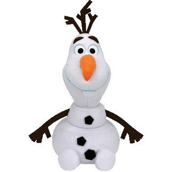 TY Olaf - Snowman Large 18inch (Big Frozen Stuffed Animals)