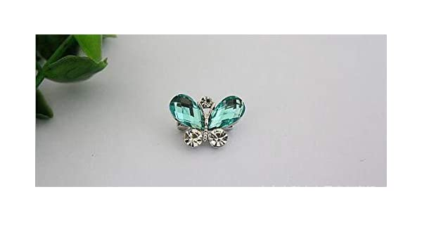 Amazon.com  Autumn Water Multicolor Crystal Butterfly Brooch brooches pins  Unisex Children Small Insect Butterfly Rhinestone brooches  Kitchen   Dining 20fce6c4d249
