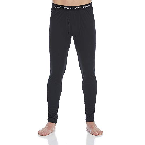 Eastern Mountain Sports EMS Men's Techwick Lightweight Base Layer Bottoms Anthracite L ()