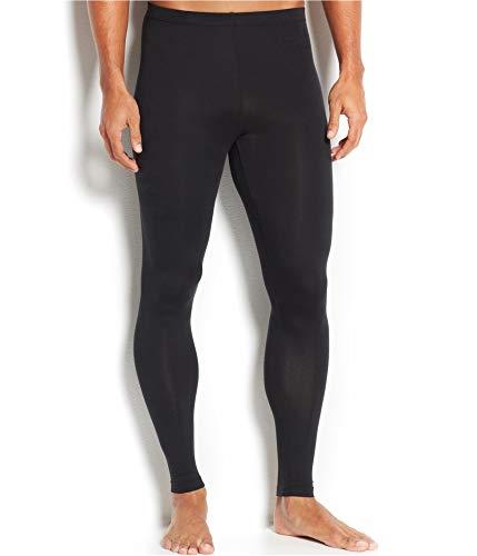 Weatherproof Mens Base Layer Pajama Lounge Pants Black M/28