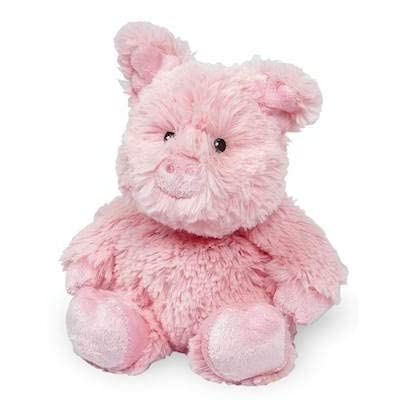 PIG JUNIOR WARMIES Cozy Plush Heatable Lavender Scented Stuffed Animal: Health & Personal Care