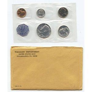 (1964 U.S. Proof Set in Original Envelope & Sealed Plastic)