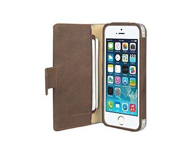 Vetti Lusso Etui Für Apple iPhone 5 - Klassische Vintage Braun