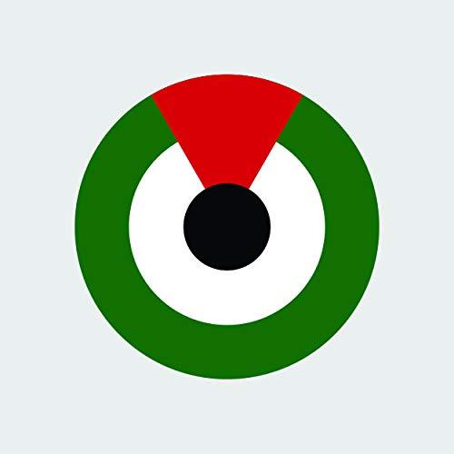 (fagraphix United Arab Emirates Air Force Roundel Sticker Self Adhesive Vinyl Decal UAE Emirati are AE)